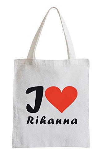 Amo Rihanna Fun Jutebeutel