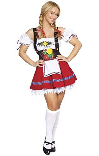 Sexy German Bar Maiden Halloween Costume (Bar Maid Halloween Costume)