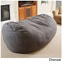 Bean Bag Chair - Super comfortable and cozy. This Oversized Lounger Bean Bag will be a great adult or kids bean bag. Beacuse of the 8ft size it can be used as a bean bag sofa. Not a slacker bean bag, just a great overall big bean bag chair.
