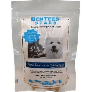 DermaPet Dentees Stars DentAcetic Pet Treats