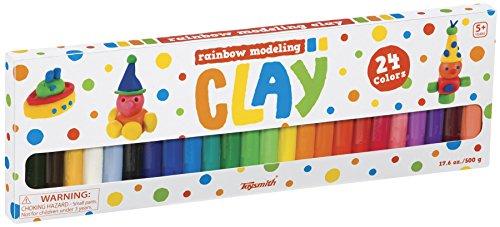 Toysmith Rainbow Clay -