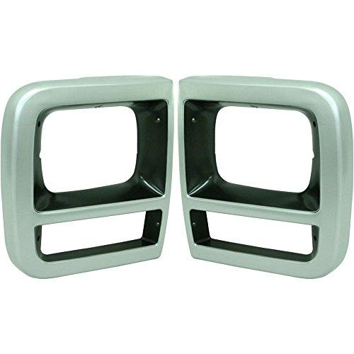 Evan-Fischer EVA18972056915 Headlight Door for Chevrolet G20 92-93 RH and LH With parking light hole