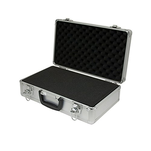 Aluminum Hard Carry Case (SRA Cases EN-AC-FG-C203 Aluminum Hard Case, 15.8 x 9.5 x 5 Inches)