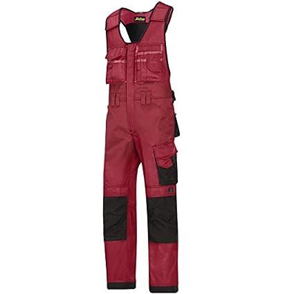 Snickers Workwear 312 - Mono, color chili-schwarz, talla 88 3121604088