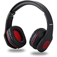 AUSDOM AH862 Wireless Bluetooth Headphones Over Ear, Headset with Microphone, Foldable, Lightweight ,Soft Earmuffs, Wireless&Wired Mode for PC/ Cell Phones/ TV