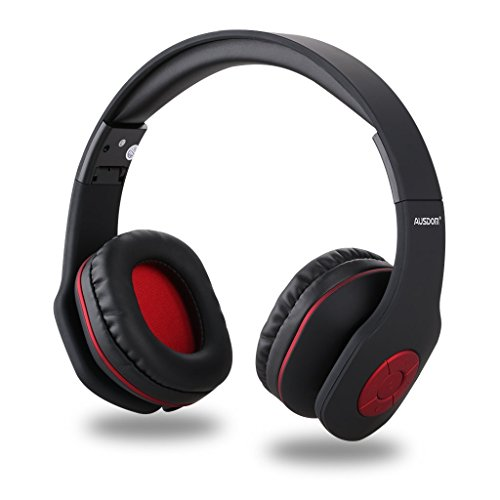 Impedance Matching Stereo Volume Control (AUSDOM AH862 Wireless Bluetooth Headphones Over Ear, Headset with Microphone, Foldable, Lightweight ,Soft Earmuffs, Wireless&Wired Mode for PC/ Cell Phones/ TV)
