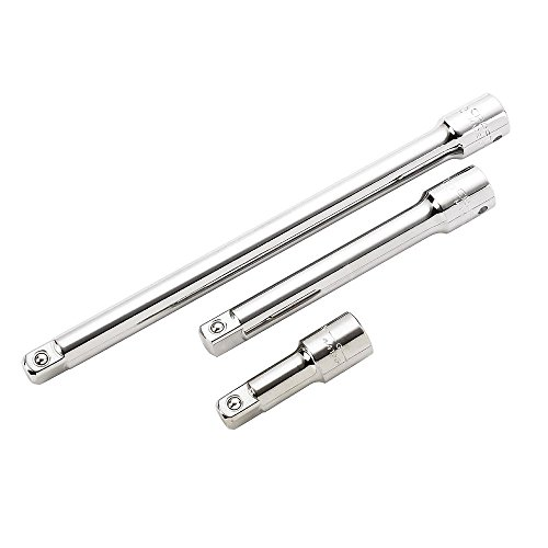 - Craftsman 3 Piece Extension Bar Set, 1/2 Inch Drive, 9-43283