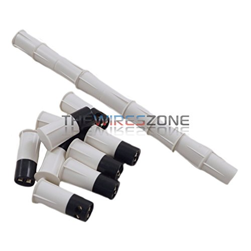 White Door Window Contacts Magnetic Reed Switch Sensor - 8