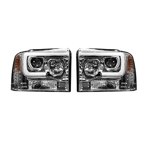RECON 264193CLC Ford Superduty For 05-07 F250/F350/F450 PROJECTOR HEADLIGHTS