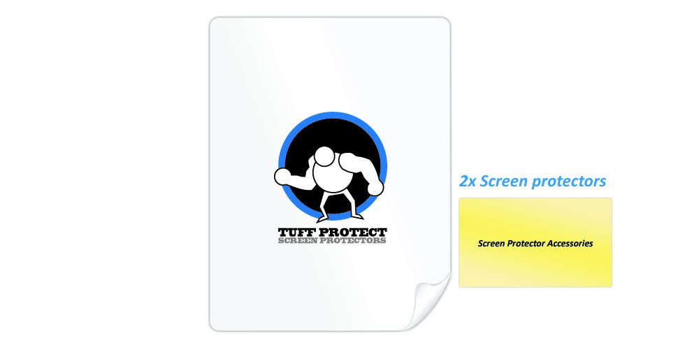 Tuff Protect Anti-Glare Screen Protectors for 2019 Honda Civic Audio Touch Screen (4 Button Version) by Tuff Protect Screen Protectors