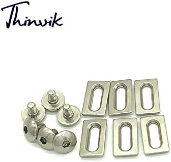690bb6427b79 ... Thinvik Road Bike Cleats 6 Degree Float Self-locking Cycling Pedals  Cleat For Shimano SH ...