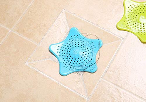 DreamInn Bathroom Sink Drain Strainer Hair Catcher Kitchen Sink Strainer Cover(Pack of 4)