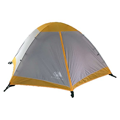 Hyke & Byke Yosemite Two Person Backpacking Tent with Footprint – Lightweight, Spacious Interior, Easy to Set Up, Compact, and Durable Design