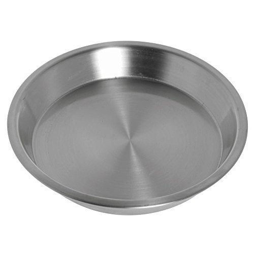 American Metalcraft Stainless Steel Pie Pan 10''Dia by American Metalcraft