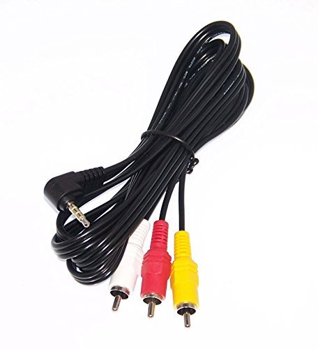OEM Sony Audio Video Cord Supplied with SELP1650, SEL-P1650, BDVNF7220, BDV-NF7220, DCRTRV350, DCR-TRV350, DVBK1000E, DVBK-1000E by Sony