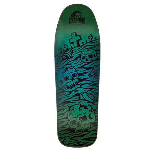 Creature Old School Skateboard Deck Sketchy Graveyard 9.75″ x 31.86″