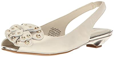 Anne Klein Women's Farrah Leather Pump