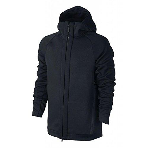 Nike Men's Sportswear Tech Fleece Hoodie Black 832112-010 (SIZE: M)