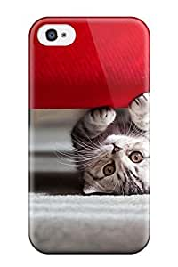 Premium cute Little Cat Case For Iphone 4/4s- Eco-friendly Packaging