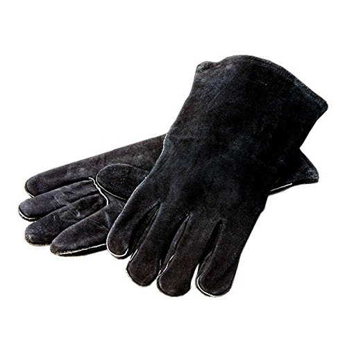Lodge A5-2 Black Leather Gloves by Lodge