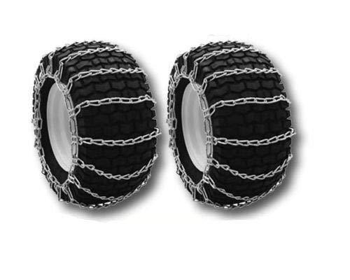 OakTen Set of Two Tire Chain Fits 4.10x3.50x6, 12x3.25, 12x4x6, 12.25x3.50, 4.10x3.50x8 by OakTen