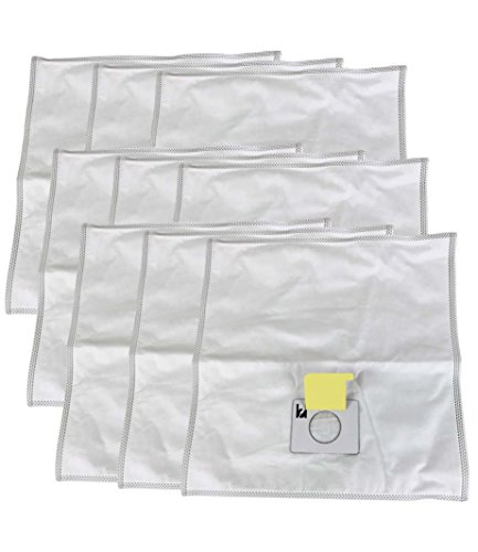Think Crucial 9 Kenmore Type C Allergen Filtration HEPA Style Cloth Vacuum Bags Designed To Fit Kenmore Canister Type C, 5055, 50557, 50558 & Panasonic Type C-5 Vacuum Cleaners by Crucial Vacuum