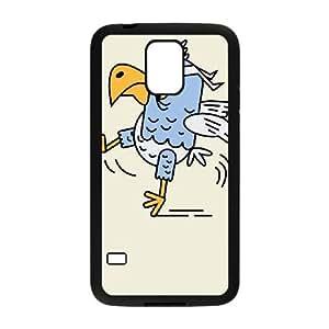 Samsung Galaxy S5 Phone Case Black Karate Bird DK3Y2JJO Create Your Own Phone Case