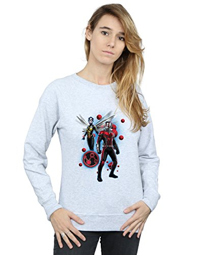 Entrenamiento man And Deporte Pose Mujer Wasp Ant Camisa De Marvel The Particle Gris qEvfBRx