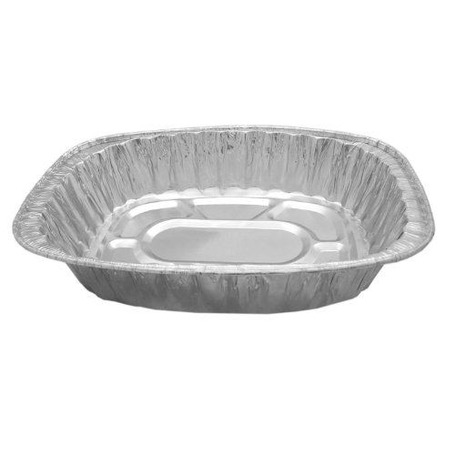 Party Essentials F8073 Oval Aluminum Roaster Pan (Case of 100) by Party Essentials