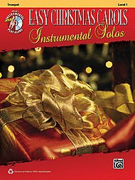 Alfred Easy Christmas Carols Instrumental Solos Trumpet Book