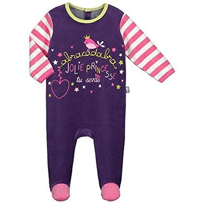 Pijama bebé terciopelo mi castillo – Talla – 6 meses (68 ...