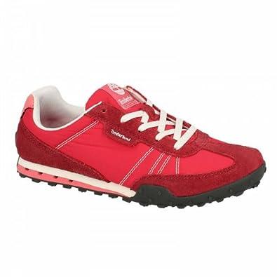Timberland Sportschuhe Sneakers Damen Leinwand und Kruste