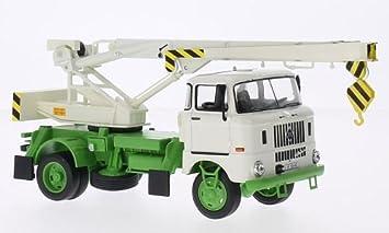IFA W50 ADK70 , blanco/verde, 1968, Modelo de Auto, modello completo