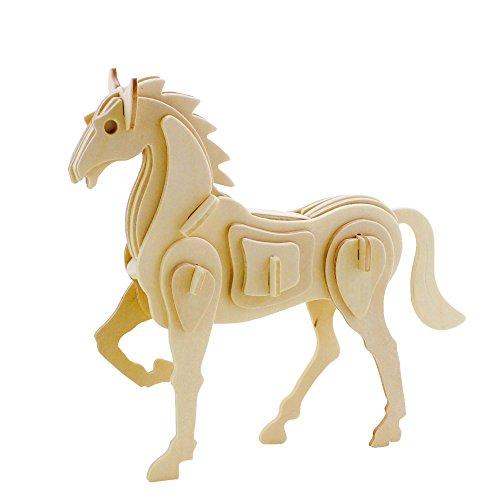 Hands Craft JP207 DIY 3D Wooden Puzzles (Horse)
