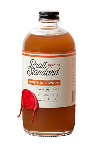 Pratt Standard Cocktail Company Old Fashioned Authentic Tonic Syrup for Cocktails, 16 oz