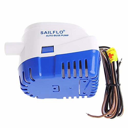 MAXZONE Automatic Submersible Boat Bilge Water Pump 12v 1100gph Auto with Float Switch by MAXZONE (Image #2)