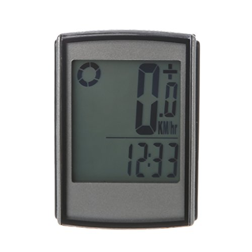 BetterM Backlight Waterproof Wireless Cycling Speedometer Odometer LCD