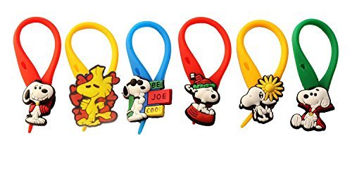 [AVIRGO 6 pcs Colorful Soft Zipper Pull Charms for Backpack Bag Pendant Jacket Set # 97-4 by Hermes] (Peppermint Costumes)