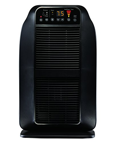 Honeywell Hce840b Heatgenius Ceramic Heater Black Energy Efficient 1500 Watt Custom Comfort With