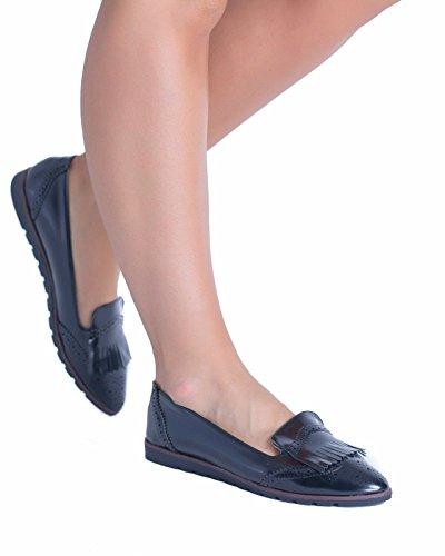 SnobUK - Zapatos de Vestir mujer negro