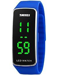 LED Sport Digital Wrist Watch 50M Waterproof for Kids...