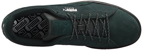 PUMA Men's Suede Classic Weatherproof Sneaker Green Gables-puma Black cheap best sale free shipping visa payment clearance cheapest price DPjdm