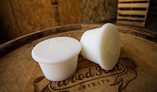 Solid Silicone Bung for Standard Wine or Whiskey Barrel ()