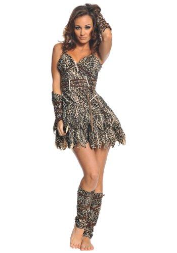 Underwraps Costumes  Women's Sexy Cave Man Costume - Goin' Clubbin', Leopard, Small -