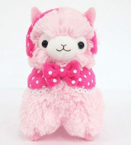 Llama Girly Alpaca 12  Prime Plush (Pink) by yesanime