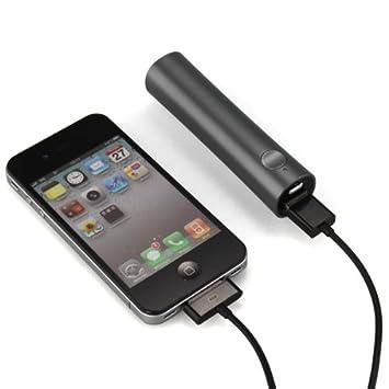 Batería Externa Cargador Portátil 2600mAh Color Negro para ...