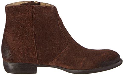 Inuovo BABELICIOUS - botas de cuero mujer marrón - Braun (SUEDE  DARK BROWN)
