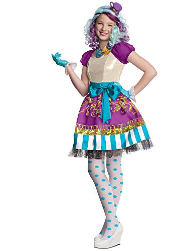 Rubies Ever After High Child Madeline Hatter Costume, Child X-Large -