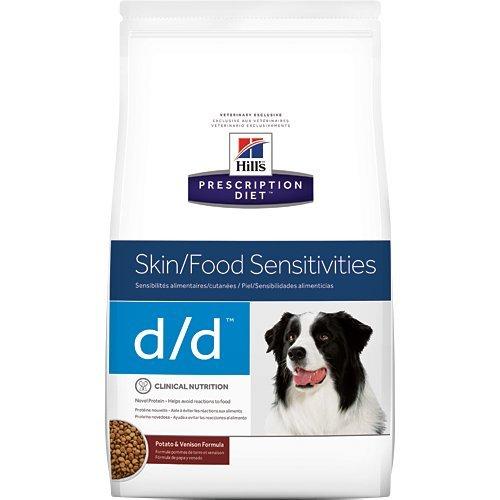 Hill's Prescription Diet d/d Skin Food Sensitivities Potato & Venison Formula Dry Dog Food 17.6 lb