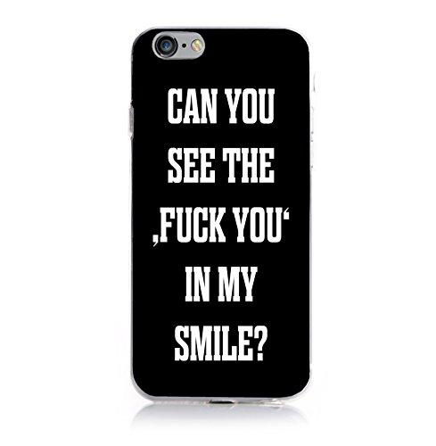 iPhone 8 / 7 Hülle, Arktis Hardcase Smile